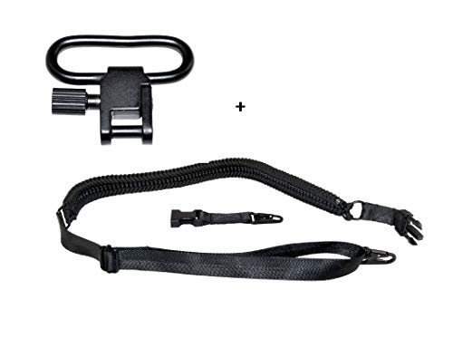 Sniper Grunt Triple Cobra Weaved, Extra Strong, Paracord 2-Point Rifle Gun Sling, Shoulder Strap, with Easy Adjustable Strap, Click Adapter and Quick Attachable Clips (Paracord Triple)