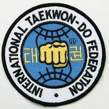 taekwondo federation fist patch (Karate Fist Patch)