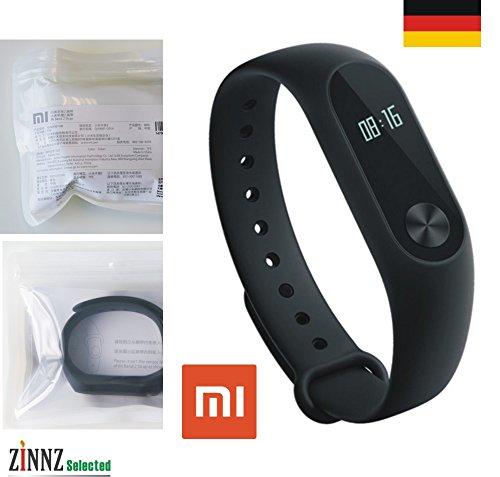 # ZINNZ Selected # Originales Ersatzband für Mi Band 2 original replacement strap for Mi Band 2 Schwarz black