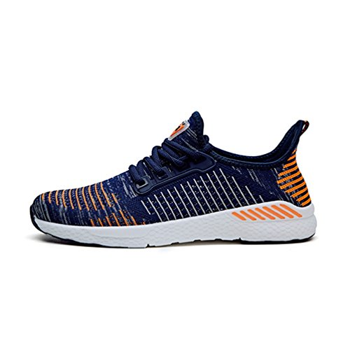 Lace Athletic Mesh Summer Outdoor Walking Shoes up Flywire Flats Orange Sport Qianliuk Women Sneakers Womens Running Shoe nYqSwf7f