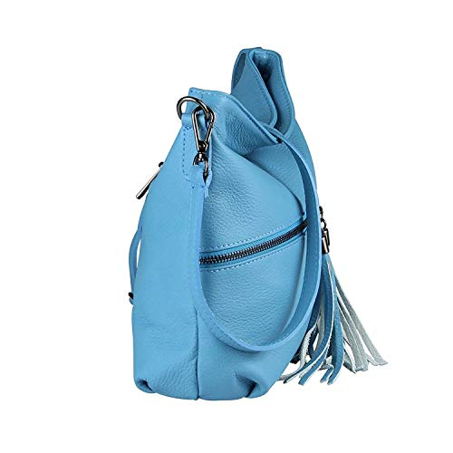 cm Dimensione Moontang blu 32x23x9 Blu a ca Borsa tracolla 30x27x14 Dunkelblau Cm donna blu Colore BxHxT x846qx