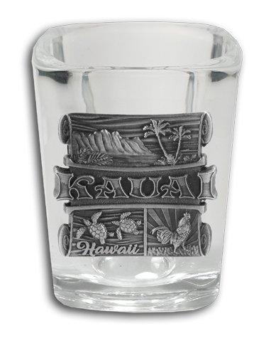 Kauai Medallion Shot Glass ()