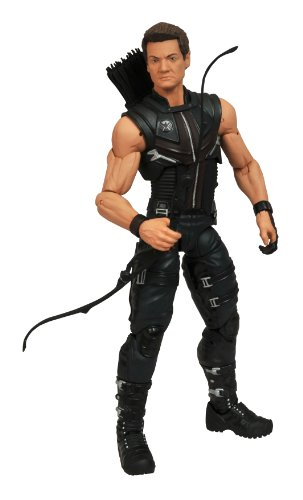 Diamond Select Toys Marvel Select: Avengers Movie Hawkeye Action Figure