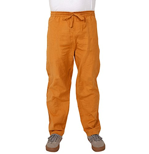 hemp-cotton-elastic-pants-light-brown-xl