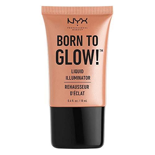 NYX Professional Makeup Born to Glow Liquid Illuminator, Gleam, 0.6 Ounce