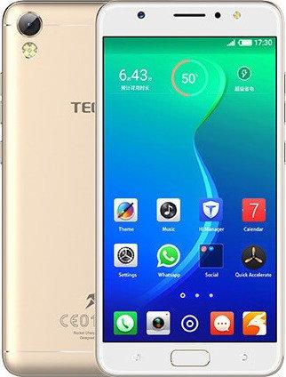 11e3d31c241 TECNO i3 Dual Sim Android 7.0 Nougat Mobile Phone with 1.3 GHz MediaTek  MT6737 Processor
