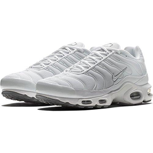 Nike Herren Air Max Plus-604133139 Low-Top white-white-black-cool grey (604133-139)
