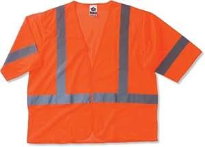 Ergodyne GloWear® 8310HL Class 3 Economy Vest - Orange, Small/Medium