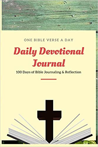 Buy Daily Devotional Journal: One Bible Verse a Day - 100