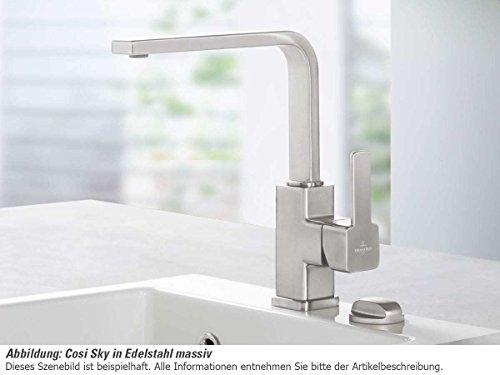 Villeroy & Boch Cosi Sky Edelstahl Hochdruck Wasserhahn Küche ...