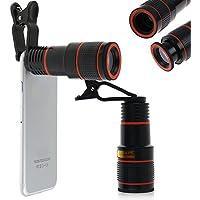 Buildent(TM) 12x Optical Zoom HD T-el-esc-ope Camera Lens Telephoto for iPhone Samsung Telephoto Len