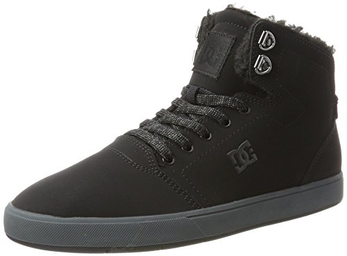 DC Shoes Crisis High WNT, Scarpe da Ginnastica Basse Uomo Multicolore (Black/Grey)