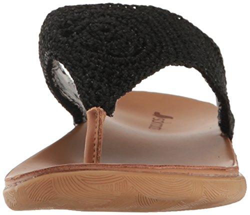 SAK Women's Flip Sparkle Flop The Sarria Black d5YxwRqR