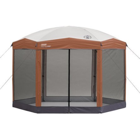 Cheap Screened Coleman 12 x 10 ft Hex Instant Canopy/Gazebo