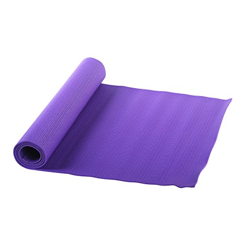 Sunny Health and Fitness Yoga Mat (Purple)