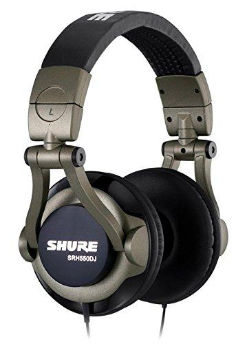Shure SRH550DJ Professional Quality DJ Headphones (Smokey Grey ... c3d8483d9522