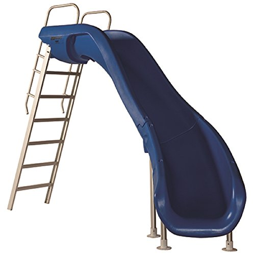 S.R. Smith 6102095813 Rogue 2 Pool Slide Right Curve - Blue