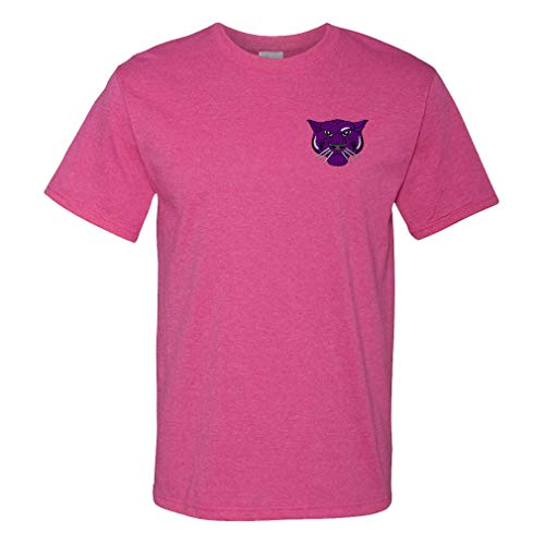 Funny Graphic T Shirts for Men Animal Panthers Mascot Cotton Top Hot Pink X Large]()