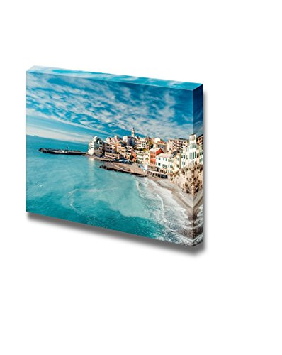 wall26-canvas-prints-wall-art-view-of-bogliasco-an-ancient-fishing-village-in-italy-modern-wall-deco