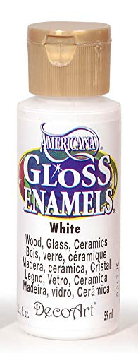 DecoArt Americana Gloss Enamels, 2-Ounce, White from DecoArt