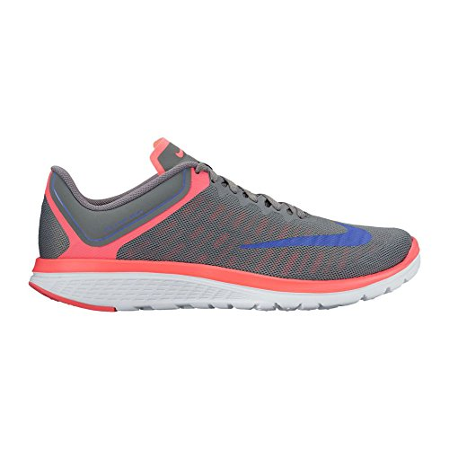 Nike Wmns Nike FS Lite Run 4 – Cool Grey/Medium Blue de Hot Punc