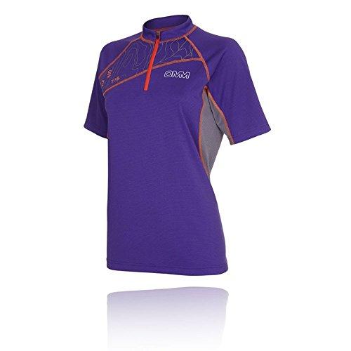 OMM Grid Women's Correr T-Shirt - SS17 Morado