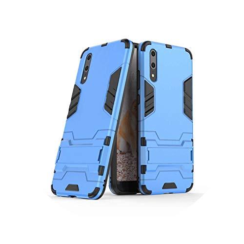 (for Samsung C5 C5pro C7 C7pro Mobile Phone case Armor Mobile Phone Holder Shell C8 C9 C9pro C10 Two-in-one Shell,Blue,C7 Pro)