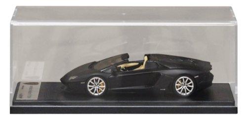 1/43 Lamborghini Aventador LP700-4 ロードスター マットブラック LS413B