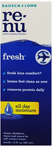 Renu Fresh Multi-Purpose Contact Lens Solution, 2 fl. oz. (Pack Of 6).