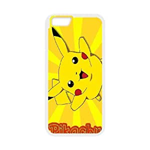 [AinsleyRomo Phone Case] For Apple Iphone 6 Plus 5.5 inch screen Cases -Pockmon Pikachu Pattern-Style 10