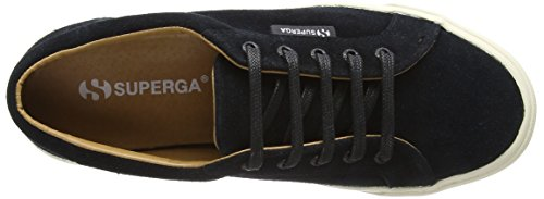 Black Sueu Black Adults' Trainers Unisex Superga 2804 8ZTXXq