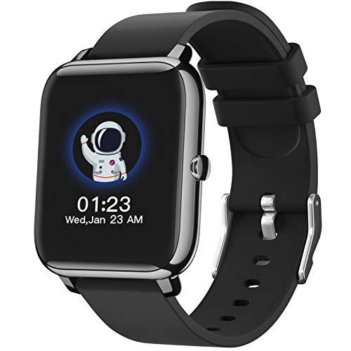 SmartWatch, Reloj Inteligente con Pantalla táctil IP68,Monitor de Sueño,Control de Musica,Pulsera Actividad Inteligente,Reloj Inteligente para Android e iOS a buen precio