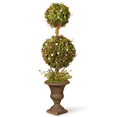 National Tree 45 Inch Spring Topiary Tree with Decorative Urn Base (Spring Topiary)
