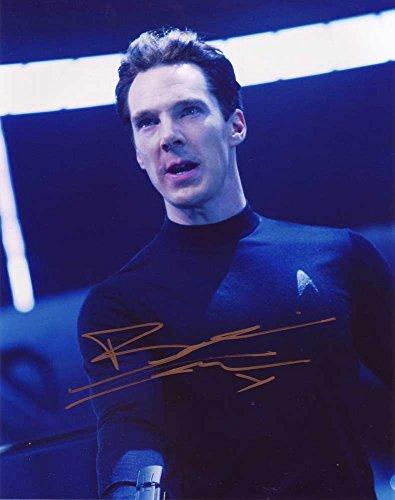 Benedict Cumberbatch In-person Autographed Photo Star Trek