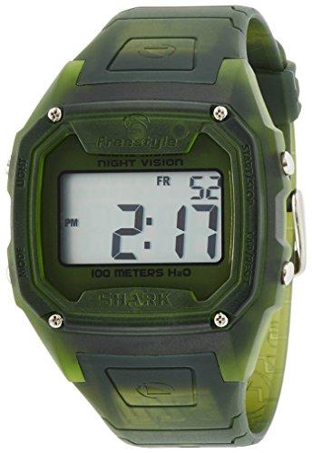 Freestyle Men's FS84973 Killer Shark Classic Oversized Retro Television Screen Case Digital Watch