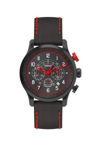 Versus-by-Versace-Mens-3C73400000-Soho-Black-IP-Coated-Steel-Black-Dial-Chronograph-Leather-Watch