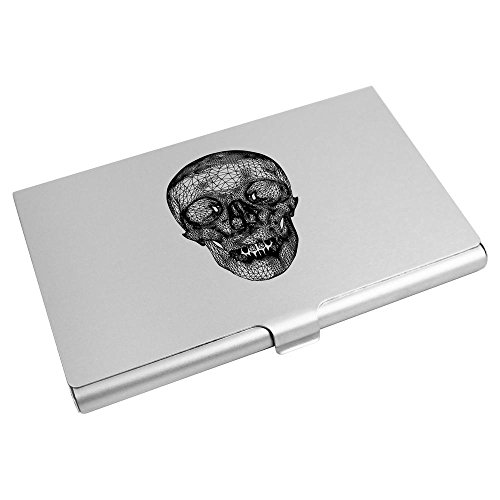 Business Card Skull' Holder Credit CH00009540 Card Frame Wallet Azeeda 'Wire 7Pfqt