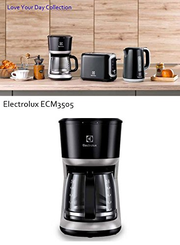 Electrolux Coffee Maker Ecm 1303 : Electrolux Coffee Maker Espresso Machine 12Cups Love Your Day Collection ECM3505 - Coffee Pigs