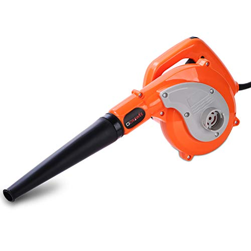 GOXAWEE 600W Compact Leaf Blower with 8.2ft Cord Only $26.99