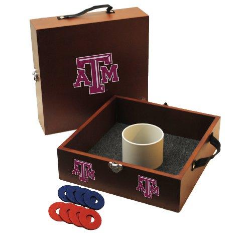 Wild Sports NCAA College Texas A&M Aggies Washer Toss Game College Washer Toss Game