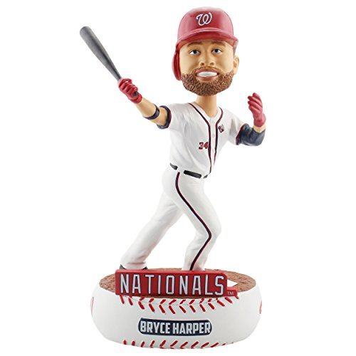 (Forever Collectibles Bryce Harper Washington Nationals Baller Special Edition Bobblehead MLB)