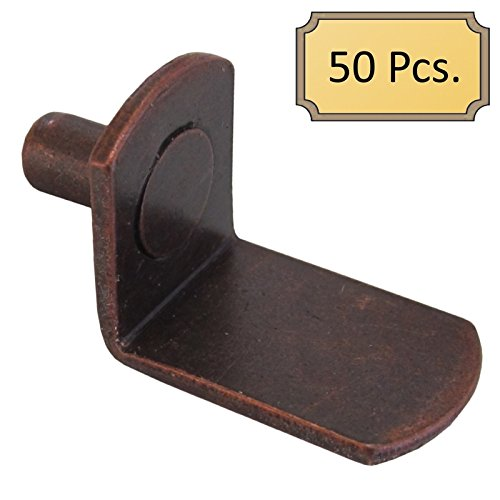 5mm Bracket Style Cabinet Shelf Support Pegs -