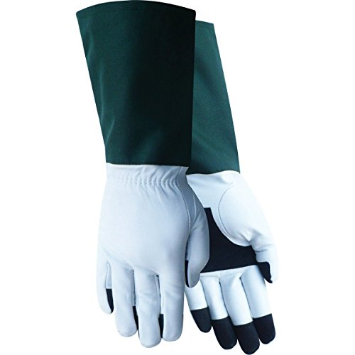 Red Steer Ladies 240 Premium Goatskin Rose Tender Gloves [PRICE is per PAIR] (Small)