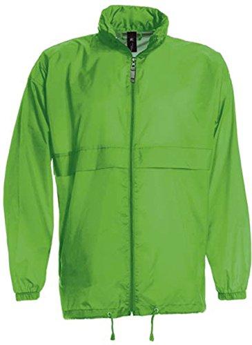 Verde Impermeabile A Da B amp;c Pieghevole Real Sirocco La Uomo Vento Giacca w7tv1