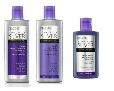 4 opinioni per Pro:Voke Set Of 3- Touch Of Silver- Silver Daily Maintenance Shampoo 200Ml,