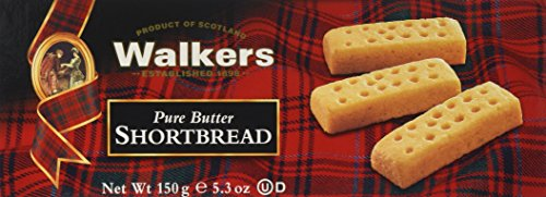 Walkers Shortbread Fingers, 5.3-oz. Boxes (Count of 6), Traditional and Simple Pure Butter Shortbread Cookies from the Scottish Highlands, Made with Quality Ingredients, Free from Artificial Flavors ()