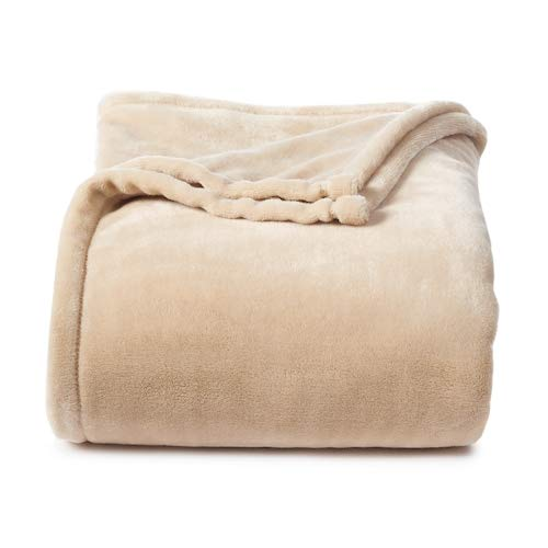 amazon com personalized blanket 5 x6 cream colored custom