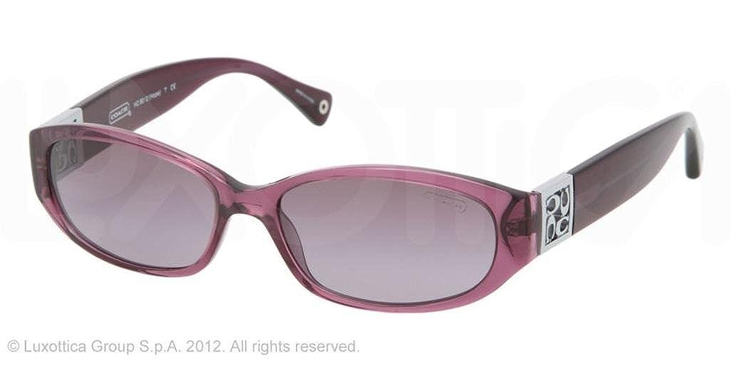 37a1b0851b Amazon.com  Coach Hope HC8012 Sunglasses - 50428H Purple (Violet Gradient  Lens) - 53mm  Shoes