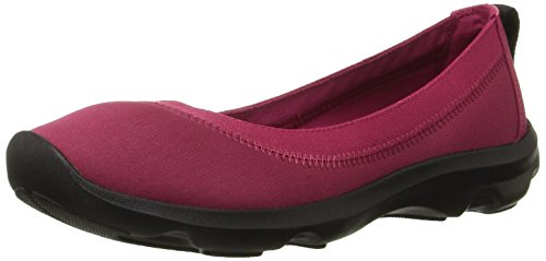 Busy Eur 35 Day Plat Extensible Pomegranate Femmes Crocs AxXdwYqPA