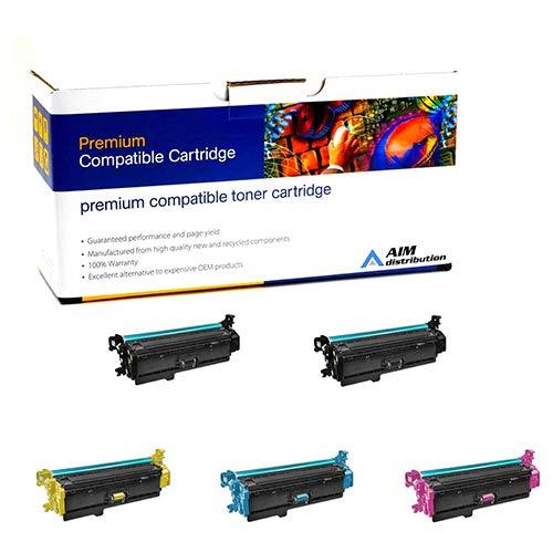 Aim互換性交換 – HP互換Color LaserJet Enterprise m552 / 553 / 577トナーカートリッジコンボパック( 2-bk / 1 - C / M / Y ) ( no。508 x ) ( cf36 X 2b1cmy ) – Generic   B07C64Y8K1